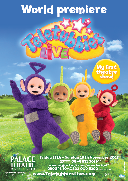 Teletubbies Live UK Poster Show Image