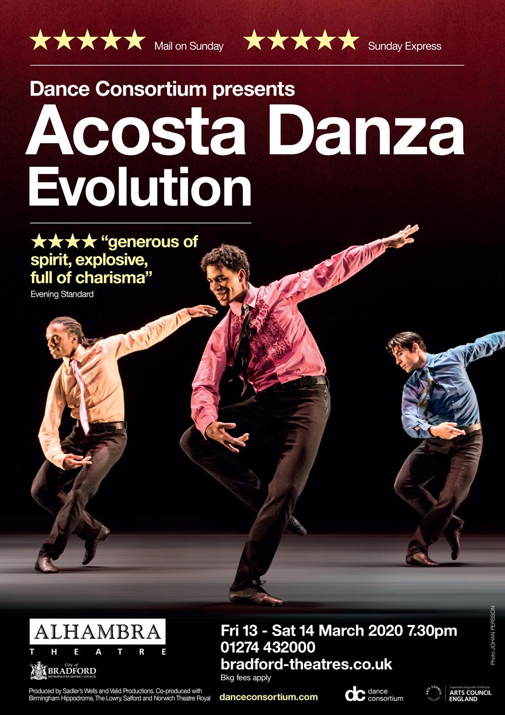 Acosta Danza Poster Show Image