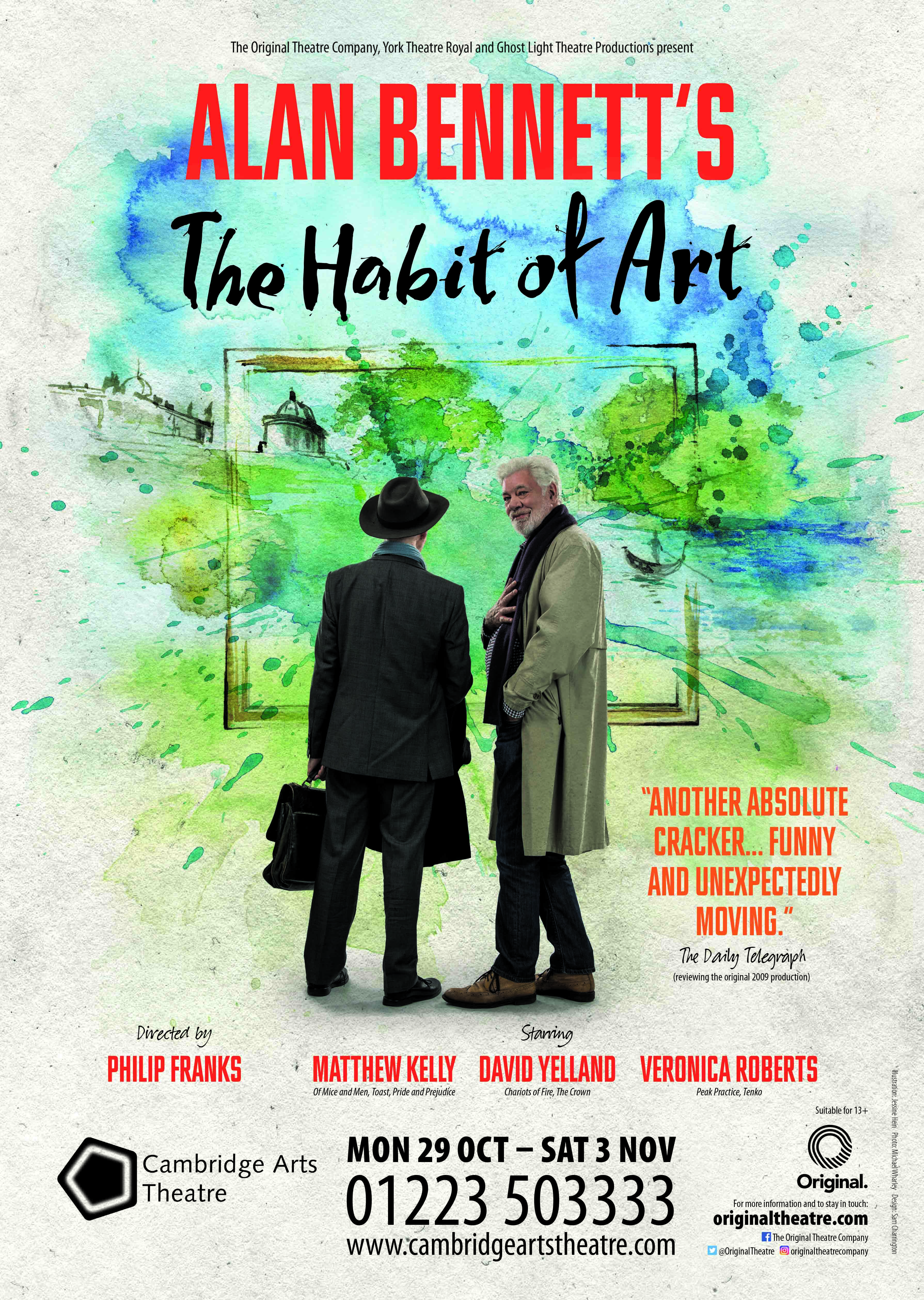 The Habit Of Art Poster Show Image