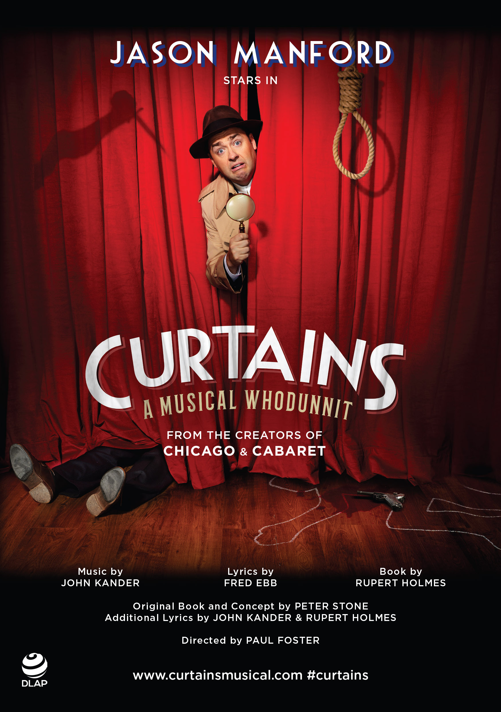 Curtains the musical Poster Show Image