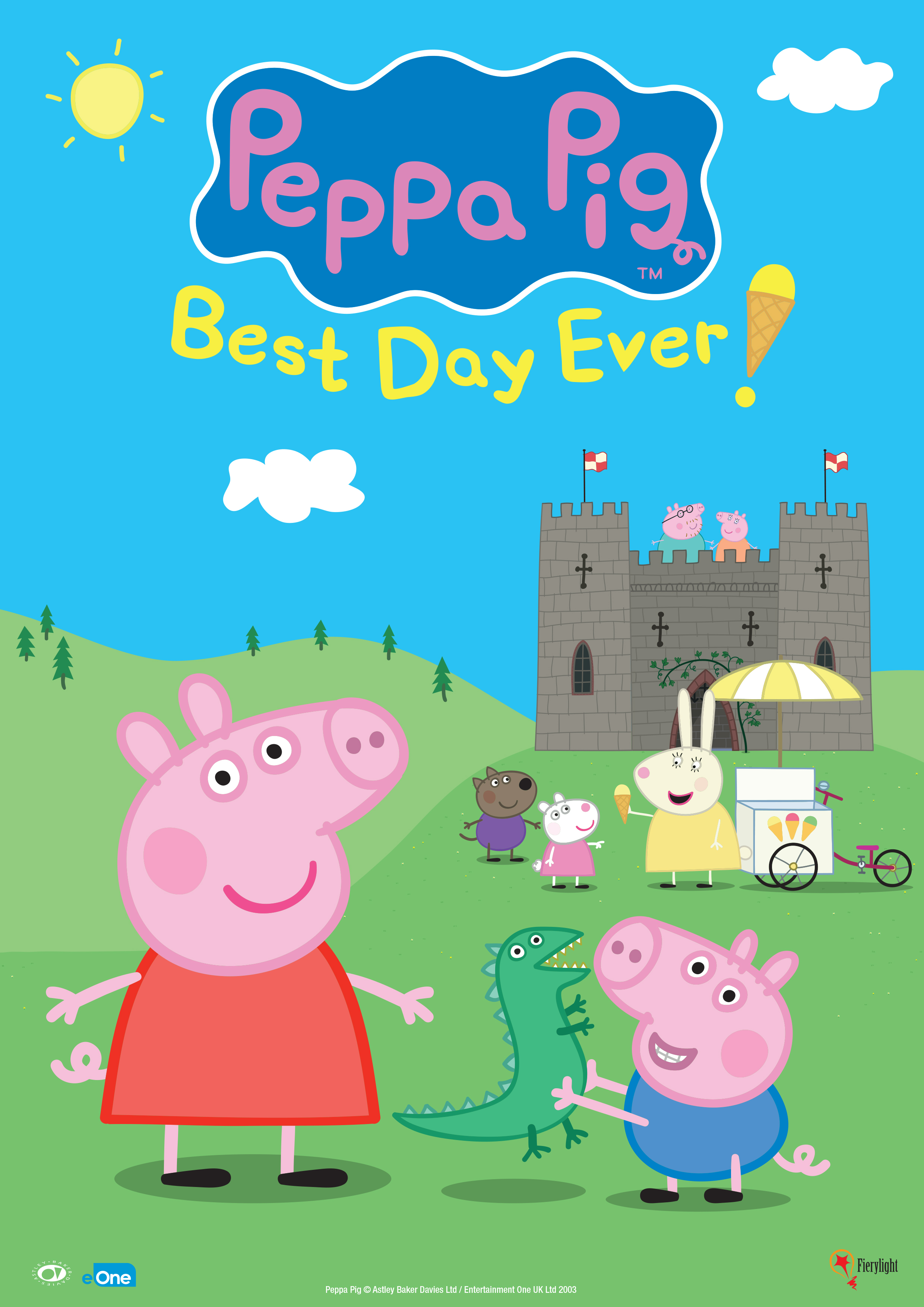 Peppa Pig Best Day Ever Poster Show Image