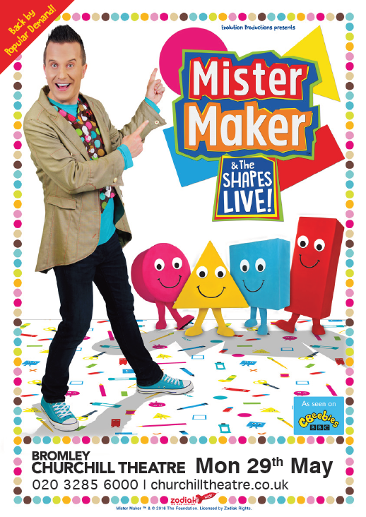 Mister Maker and the Shapes Live! Poster Show Image