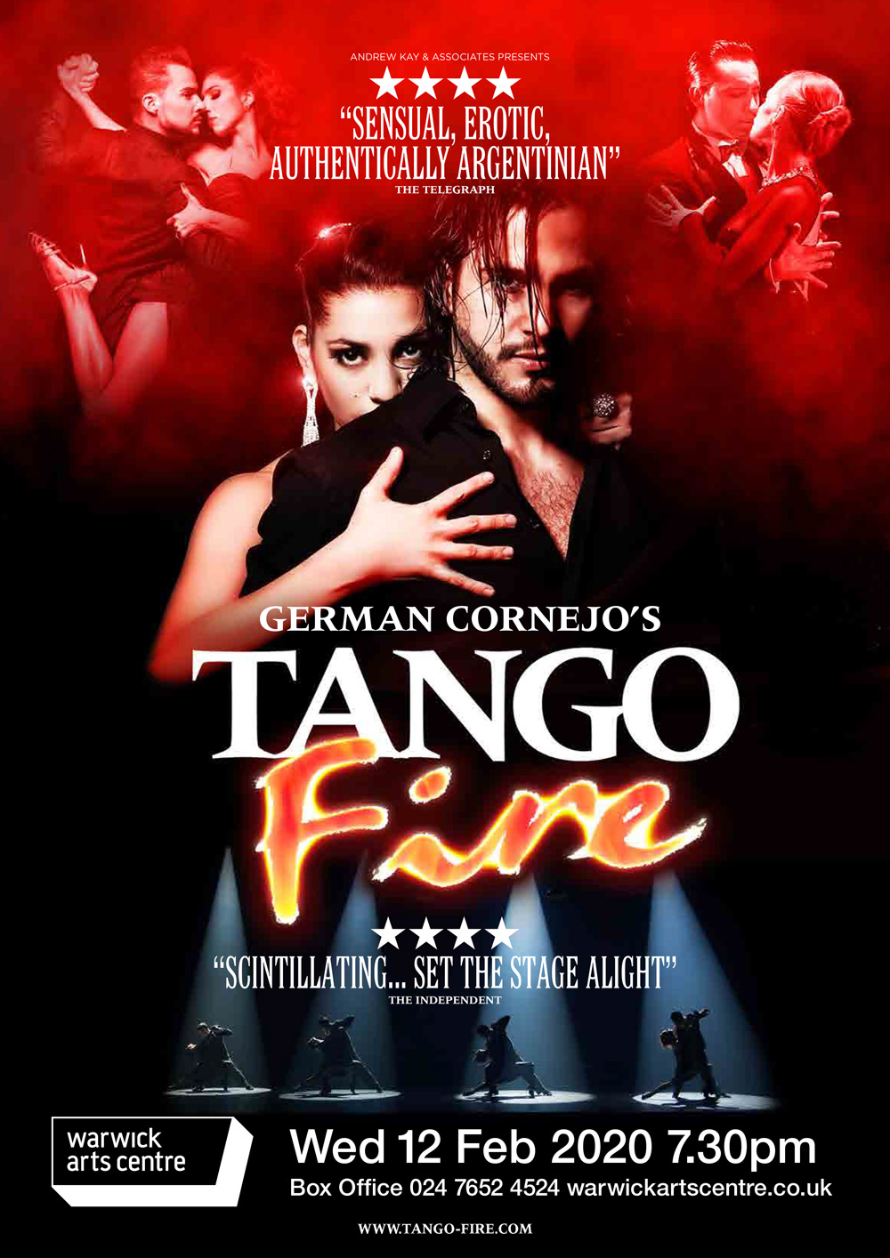 Tango Fire Poster Show Image