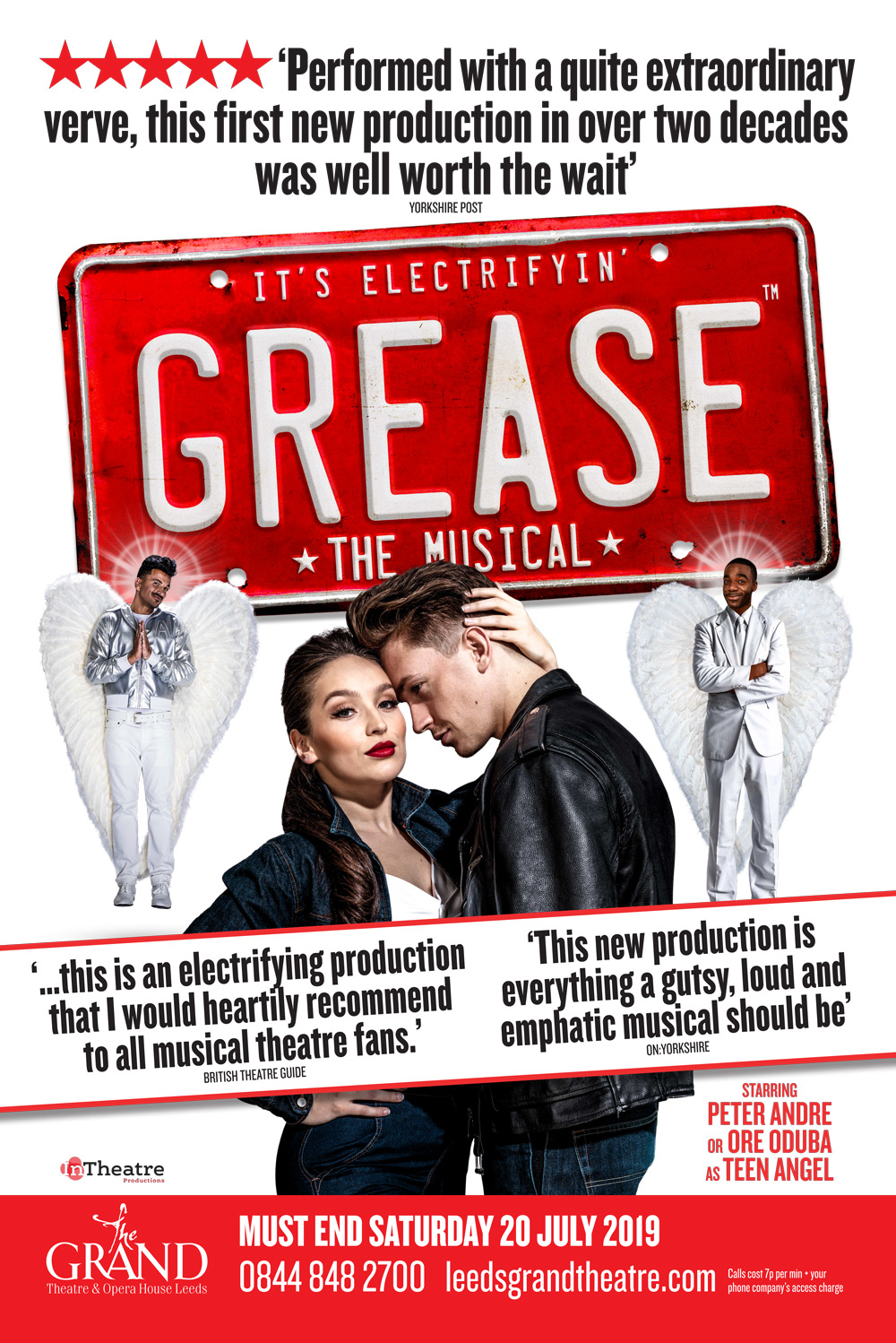 Grease The Musical Poster Show Image