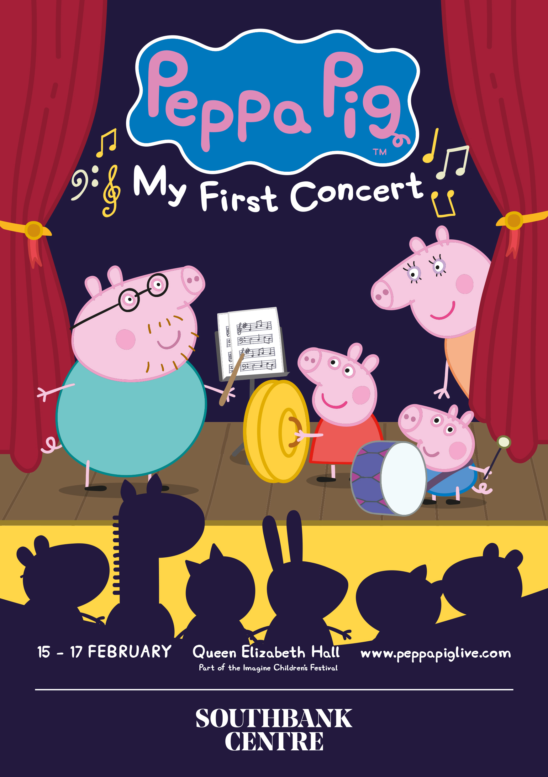 Peppa Pig - My First Concert Poster Show Image