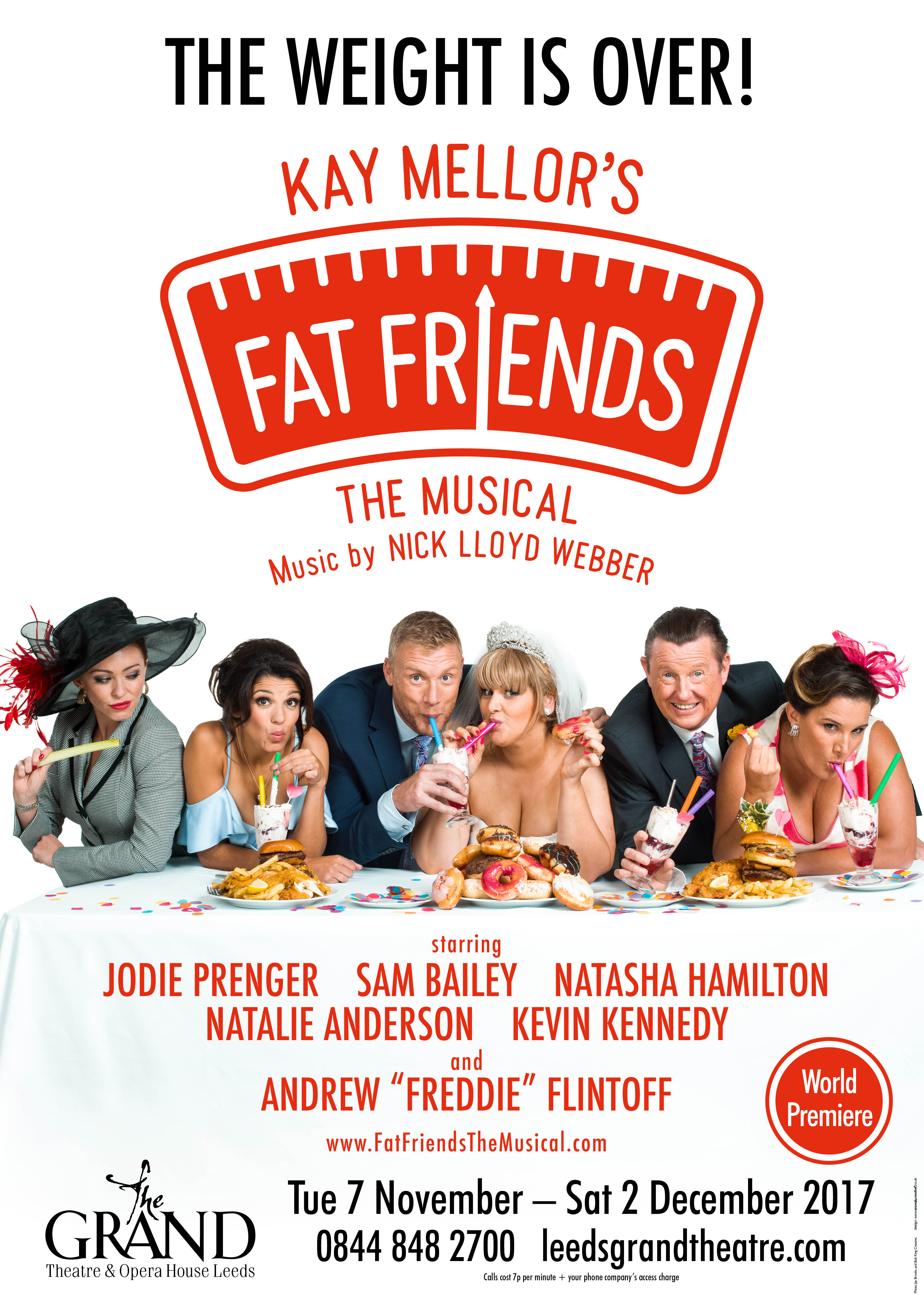 Fat Friends The Musical Poster Show Image
