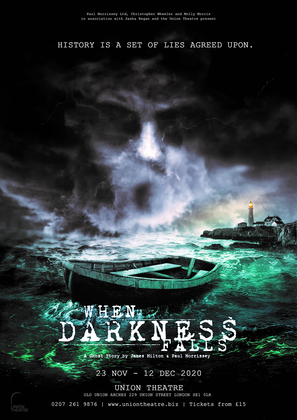 When Darkness Falls Poster Show Image