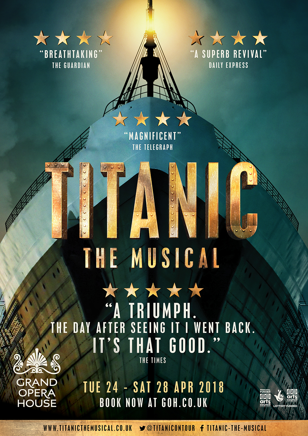 Titanic, The Musical Poster Show Image