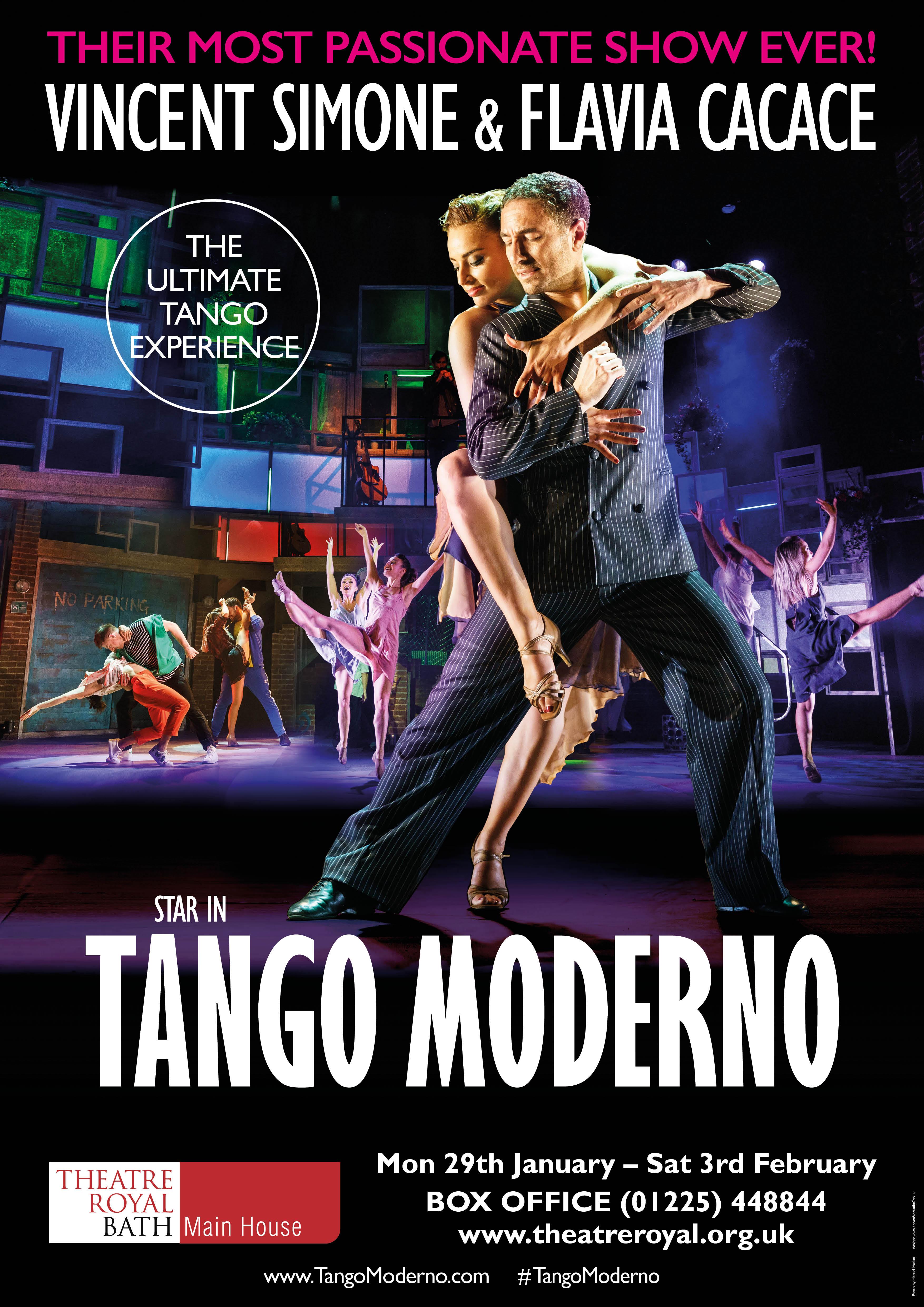 Tango Moderno Poster Show Image
