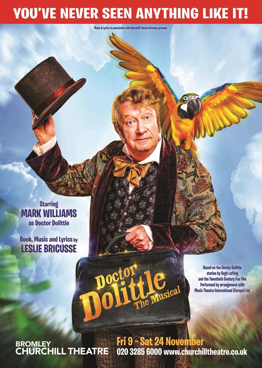 Doctor Dolittle Poster Show Image