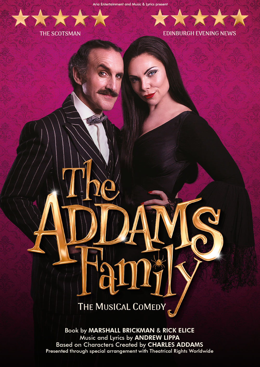 The Addams Family Poster Show Image