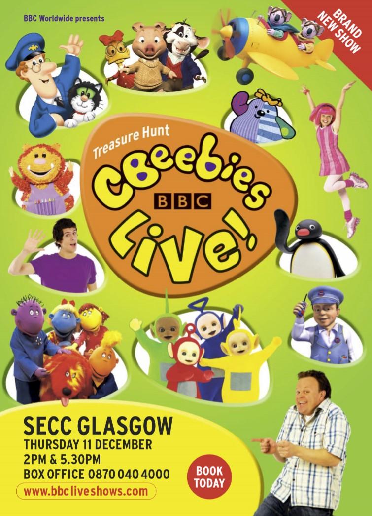 CBeebies Live - Treasure Hunt (2008)