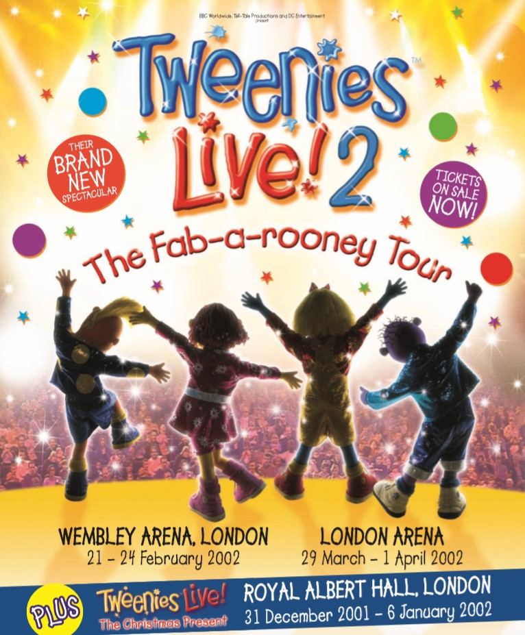 Tweenies Live - The Fab-A-Rooney Tour (2001)