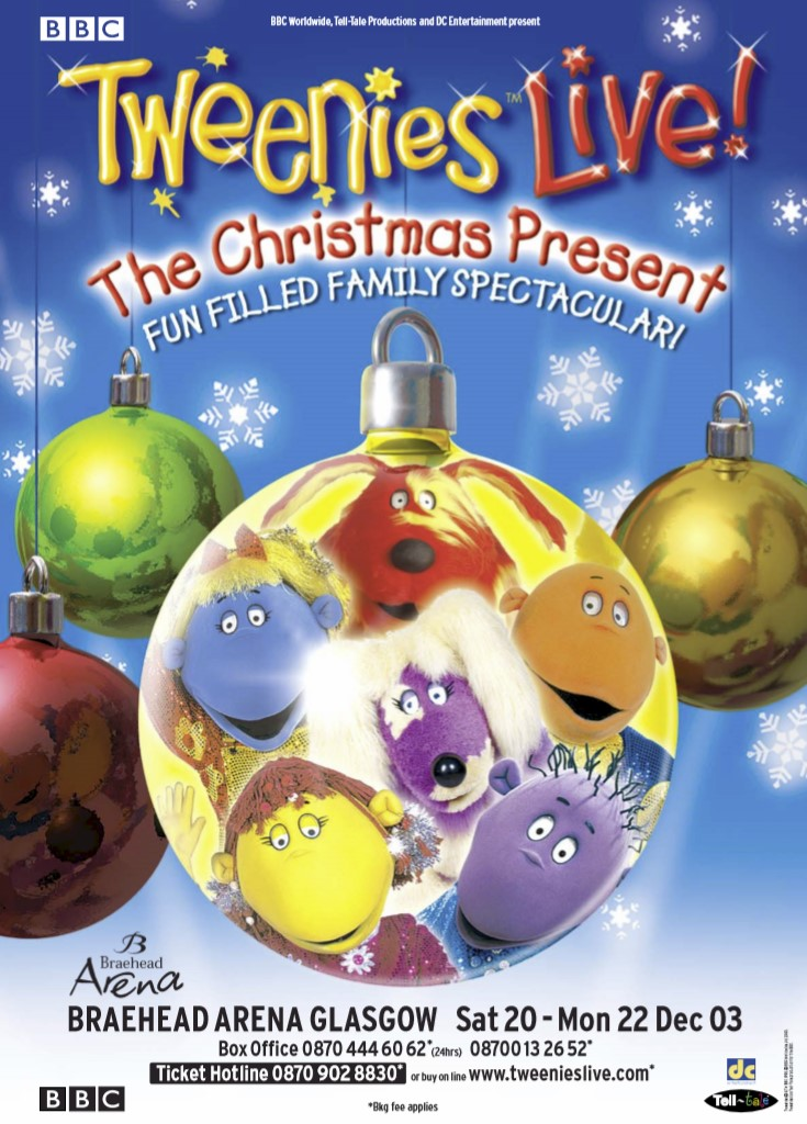 Tweenies Live - Christmas Present (2002 & 2003)